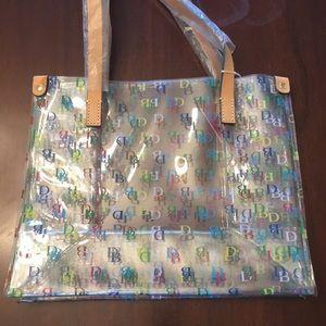 Dooney & Bourke Clear plastic Shopper tote